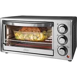 Oster 6-Slice Toaster Oven, 1300-Watt, 13 inWx16-4/5 inDx9 inH