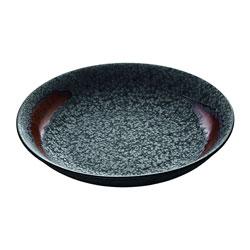 Bauscher Hepp Playground Lava Deep Plate, 5.1 in