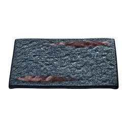 Bauscher Hepp Playground Lava Rectangular Platter, 7.1x4.7 in