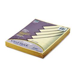 Riverside Paper Array Card Stock, 65 lb., Letter, Ivory, 100 Sheets/Pack