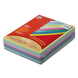 "Riverside Paper 65 lb. Card Stock, 8 1/2"" x 11"", Assorted Colors"