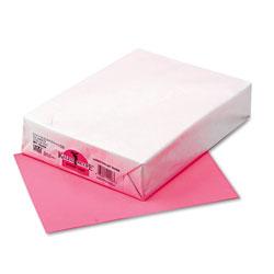Riverside Paper Kaleidoscope Multipurpose Colored Paper, 24lb, 8.5 x 11, Hyper Pink, 500/Ream