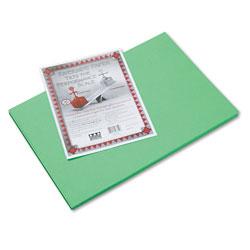 "Riverside Paper Construction Paper, 12"" x 18"", Green"