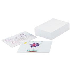 "Pacon Drawing Paper, 60lb, 9""x12"", 500 Sheets, White"
