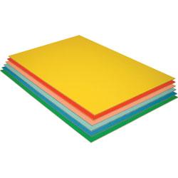 Pacon Foam Board, 20 in x 30 in, 3/16 in Thick, 12/PK, Assorted