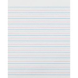 Pacon Z-Bloser Sulphite Paper, Rld, Grade-3, 10-1/2 inx8 in, 500Sh, WE