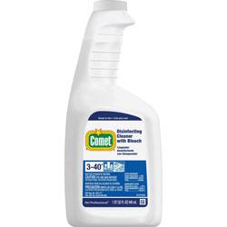 Comet Cleaner w/Bleach, 32 oz., Plastic Spray Bottle, Fresh Scent