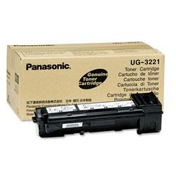 Panasonic UG3221 Toner, 6000 Page-Yield, Black