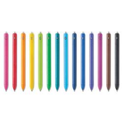 Papermate® InkJoy Retractable Gel Pen, Medium 0.7mm, Assorted Ink/Barrel, 14/Pack
