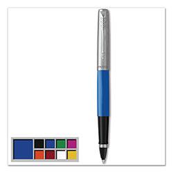 Parker Jotter Originals Rollerball Pen, Fine 0.5 mm, Black Ink/Blue Barrel