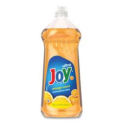 Joy Ultra Orange Dishwashing Liquid, Orange, 30 oz Bottle, 10/Carton