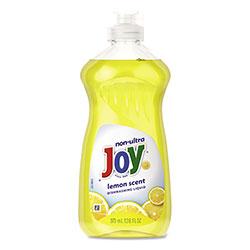 Joy Dishwashing Liquid, Lemon, 12.6 oz Bottle, 12/Carton