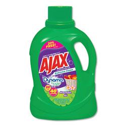 Ajax Laundry Detergent Liquid, Extreme Clean, Mountain Air Scent, 40 Loads, 60 oz Bottle, 6/Carton