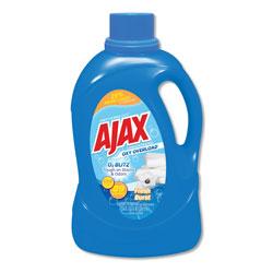 Ajax Laundry Detergent Liquid, Oxy Overload, Fresh Burst Scent, 89 Loads, 134 oz Bottle, 4/Carton