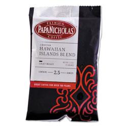 PapaNicholas Premium Coffee, Hawaiian Islands Blend, 18/Carton