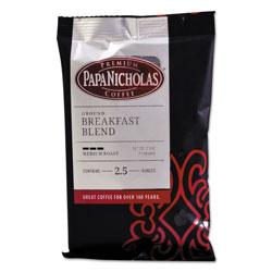 PapaNicholas Premium Coffee, Breakfast Blend, 18/Carton