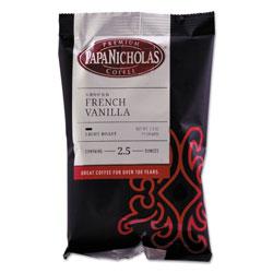 PapaNicholas Premium Coffee, French Vanilla, 18/Carton