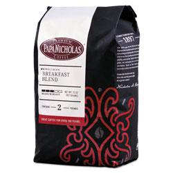 PapaNicholas Premium Coffee, Whole Bean, Breakfast Blend