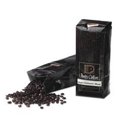 Peet's Bulk Coffee, Major Dickason's Blend, Whole Bean, 1 lb Bag