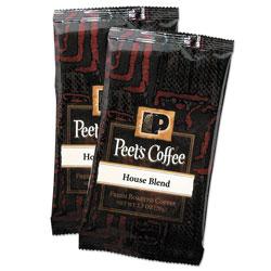 Peet's Coffee Portion Packs, House Blend, 2.5 oz Frack Pack, 18/Box