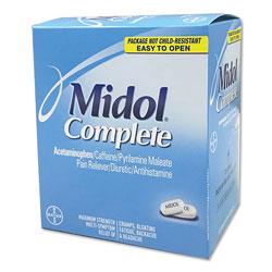 Midol® Complete Menstrual Caplets, Two-Pack, 30 Packs/Box