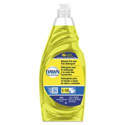 Dawn® Professional Manual Pot & Pan Detergent Concentrate, Lemon Scent, Concentrate, 38 oz. Bottles, 8/Case