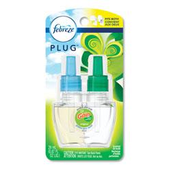 Febreze Plug in Air Freshener and Odor Eliminator, Gain Original Scent, 1 Refill, 6/Pack