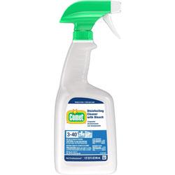 Comet Disinfecting Cleaner w/Bleach, 32 oz, Plastic Spray Bottle, Fresh Scent, 6/Carton