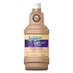 Swiffer Wet Jet Wood Floor Cleaner System Refill, 1.25 Liter Bottle, 4/Case