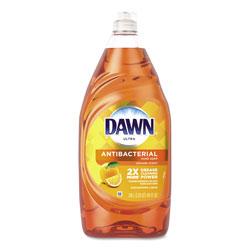 Dawn Ultra Antibacterial Dishwashing Liquid, Orange, 40 oz Bottle