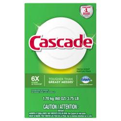 Cascade Automatic Dishwasher Powder, Fresh Scent, 60 oz. Box, 6/Case