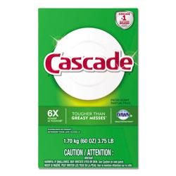 Cascade Automatic Dishwasher Powder, Fresh Scent, 60 oz. Box