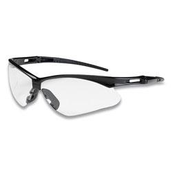 Bouton Anser Optical Safety Glasses, Anti-Fog, Anti-Scratch, Clear Lens, Black Frame
