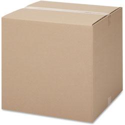 International Paper Shipping Carton, 200 lb, 12 inWx12 inLx12 inH, 25/PK, Kraft