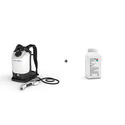 EvaClean Protexus PX300ES Cordless Electrostatic Backpack Sprayer w/Purtabs 13.1G Kit