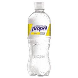 Propel Flavored Water, Lemon, Bottle, 500mL, 24/Carton