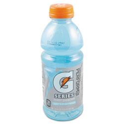 Gatorade G-Series Perform 02 Thirst Quencher, Glacier Freeze, 20 oz Bottle, 24/Carton