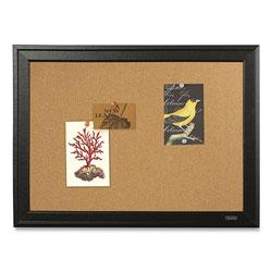Quartet Basics Cork Bulletin Board, 36 x 24, Silver Aluminum Frame