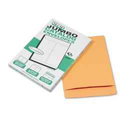 Quality Park Jumbo Size Kraft Envelope, Fold Flap Closure, 14 x 18, Brown Kraft, 25/Pack