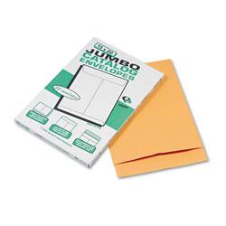 Quality Park Jumbo Size Kraft Envelope, Fold Flap Closure, 15 x 20, Brown Kraft, 25/Pack
