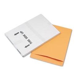 Quality Park Jumbo Size Kraft Envelope, Fold Flap Closure, 17 x 22, Brown Kraft, 25/Pack
