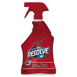 Resolve Carpet Cleaner, 32oz Spray Bottles, 12/Carton