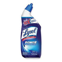 Lysol Disinfectant Toilet Bowl Cleaner, Wintergreen, 24oz Bottle, 9/Carton