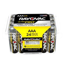 Rayovac Ultra Pro Alkaline AAA Batteries, 24/Pack