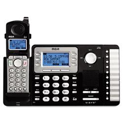RCA ViSYS Cordless Expandable Phone System, 2 Lines, 1 Handset