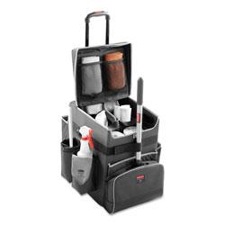 Rubbermaid Executive Quick Cart, Small, 14.25w x 16.5d x 17h, Dark Gray