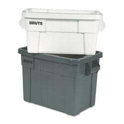 Rubbermaid Brute Tote Box, 20gal,Gray