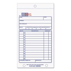 Rediform Sales Book, 3-5/8 x 6 3/8, Carbonless Duplicate, 50 Sets/Book