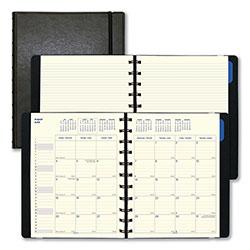 Filofax Monthly Planner, 10.75 x 8.5, Black, 2020-2021