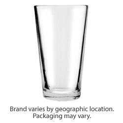 ReStockIt Glass Mixing Glasses, 16 oz. 3.5 in x 2.375 in x 5.875 in, 24 per case